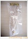 ก้านดูดน้ำหอมทรงกิ่งไม้+ดอกไม้ (DSF008)