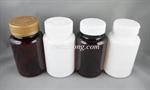 ขวดยาเม็ด PET 150ml ฝาป๊อกแป๊ก/ฝาเซฟตี้ (MD181-150ml)