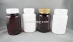 ขวดยาเม็ด PET 120ml ฝาป๊อกแป๊ก/ฝาเซฟตี้ (MD181-120ml)