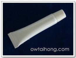 หลอดลิปกลอส 10g ขาวมุก White Lip-Gloss Tube