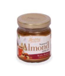 ครีมอัลมอนด์ผสมน้ำผึ้ง 200 g.