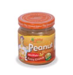 ครีมถั่วลิสงผสมน้ำผึ้ง(บดหยาบ) 200 g.