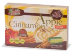 เครื่องดื่มธัญญหารผสมแอปเปิ้ลและอบเชย 135 g.