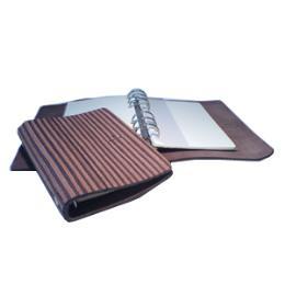 สมุดโน๊ตPLUS&MINUS AGENDA (L) Made of leather with +/