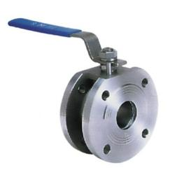 1-PC Wafer Type SS304 Ball Valve