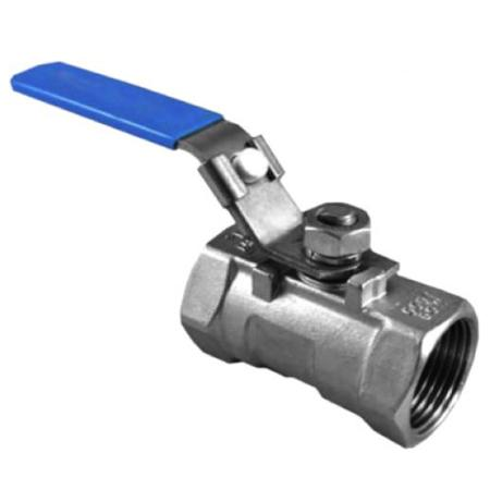 1-PC Stainless Steel Ball Valve 316