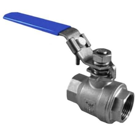 2-PC Stainless Steel Ball Valve 316