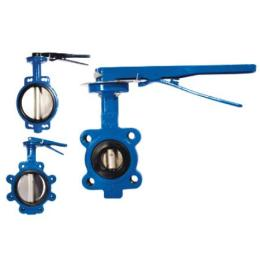Cast Iron Butterfly Valve PN10 / PN16