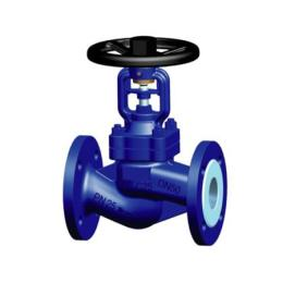 Cast steel globe valve with bellows seal
