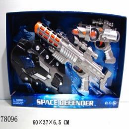 ปืนอวกาศพร้อมหน้ากาก 78096