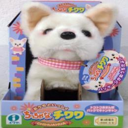 ตุ๊กตาชิวาวาในกล่องบ้าน