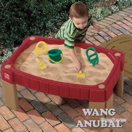 กระบะทราย+อ่างน้ำ (7594 โต๊ะเล่นทราย)