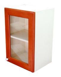 ตู้แขวนติดผนังบานกระจกตรง 6040 MCR