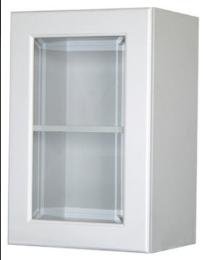 ตู้แขวนติดผนังบานกระจกตรง 6040 KMP