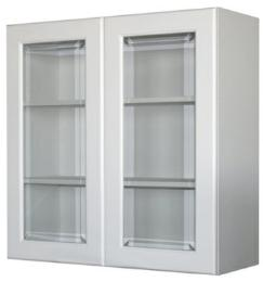 ตู้แขวนติดผนังบานกระจกตรง 8080 KMP