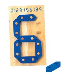 S 205 กระดานสร้างตัวเลข