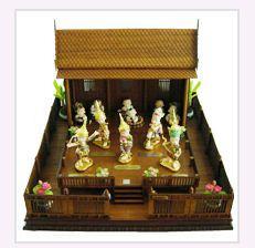ตุ๊กตาเซรามิค รุ่น บ้านโขนไทย