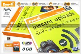 เมมโมรี่การ์ด Eye-Fi Pro X2 SD Card 8 Gb
