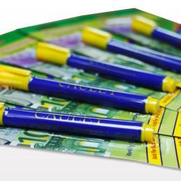 ปากกาตรวจสอบธนบัตร