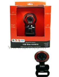 กล้องเว็ปแคม Duo J 2 ล้าน (สีแดง) CH907
