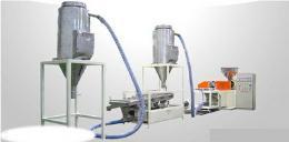เครื่องรีดผลิตเม็ดพลาสติกสำหรับพีวีซี