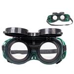 23-ว001-021 แว่นตาเซื่อมแก๊ส ชนิดปิด-เปิด
