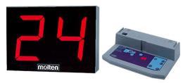 นาฬิกาจับเวลา 24 วินาที ตรา molten รุ่น BBSCX