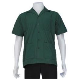 เสื้อช่างสีเขียวแก่