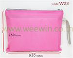ถุงผ้าสปันบอนด์ W23 ซิบรูดผ้าสี