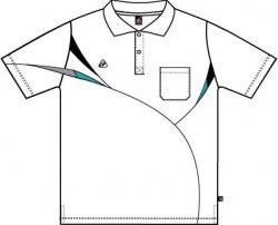 เสื้อโปโล EG 6021-WH/BK/GN Sea
