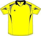เสื้อวอลเลย์บอล EG 357-YL/BK/GY