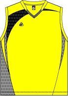 เสื้อบาสเก็ตบอล EG 331-YR/GY/BK