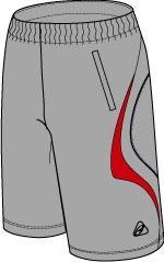 กางเกงเทนนิส EG 817 GY/RD/NV