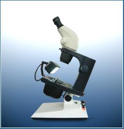กล้องจุลทรรศน์สำหรับส่องเพชร