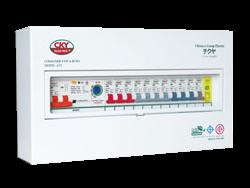 แผงควบคุมไฟฟ้า GFL-10 ช่อง+RY1-D เมนเบรกเกอร์  (A)