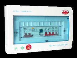 แผงควบคุมไฟฟ้า SAFE FIVE 4 ช่อง