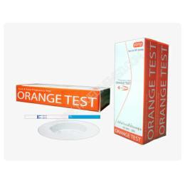 ชุดทดสอบการตั้งครรภ์แบบจุ่ม Orange Test Strip  T-001