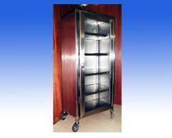 ตู้เก็บเครื่องมือแพทย์สแตนเลส 1 ประตู รหัส 11045