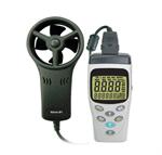 เครื่องวัดความเร็วลมและอุณหภูมิ Digital Anemometer and Temperature