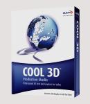 โปรแกรม Corel Ulead Cool 3D Production Studio