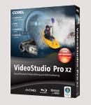 โปรแกรม Corel Ulead VideoStudio Pro X2