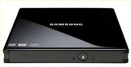 ไดรฟ์ CD / DVD SAMSUNG SE-S084F/RSBS