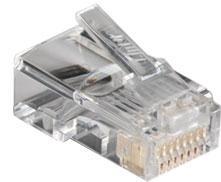 สายสัญญาณ LINK CAT 5E RJ45 Modular PLUG (ตัวผู้ 8 ขา)