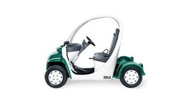 รถกอล์ฟ รุ่น Metallic Green