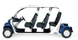รถกอล์ฟ 6 ที่ รุ่น Ocean Sapphire Metallic