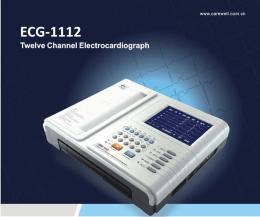 เครื่องวัดคลื่นหัวใจไฟฟ้าแบบวิเคราะห์ผล รุ่น ECG-1112