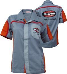 เสื้อฟอร์มพนักงาน ผ้า Com T-will