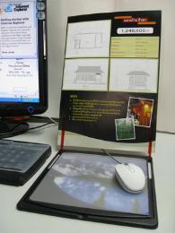 แผ่นรองเม้าส์ Mousepad built-in Copy holder
