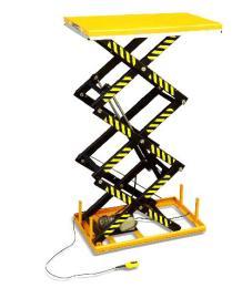 เครื่องยกสินค้า Three Scissor Lift Table