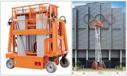 เครื่องยกสูง Electric Aluminium Work Platform Six